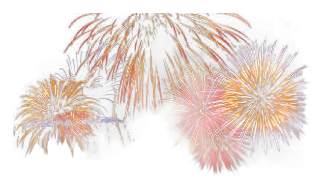 tube feux d'artifice